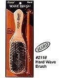Annie Brosse rigide avec poils de sanglier 100 % naturels