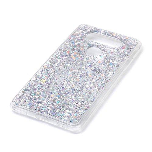 DDLBiz Flash Shining Fashion Design Case Cover Skin For LG V20 (Graphic Rhinestone Case)