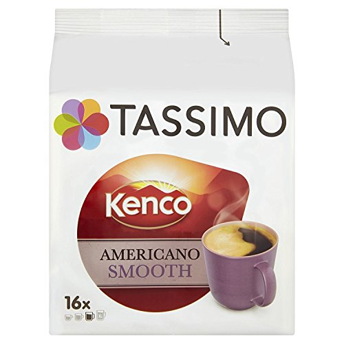 Tassimo Kenco Americano Smooth (Old Name Cafe Crema) Coffee (16 T-Disc)