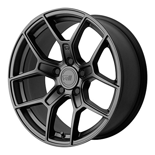 Motegi MR133 17x9.5 Black Wheel / Rim 5x120 with a 45mm Offs