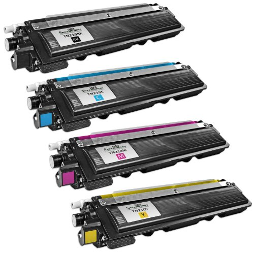 Speedy Inks - Compatible with Brother Compatible TN-210 S...