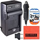 DMW-BLD10 Battery Charger for Panasonic Lumix DMC-GX1 DMC-GF2K DMC-G3K DMC-TS2A Digital Camera + More!!
