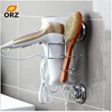 Small Ensuite Bathroom Storage Ideas VIPASNAM-NEW Hair Dryer Holder Comb Straightener Curling Basket Bathroom Storage