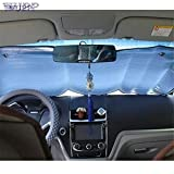 PerfectPrice 1 PC Auto car-Styling car Styling Casual Foldable Car Windshield Visor Cover Front Rear Block Window Sun Shade