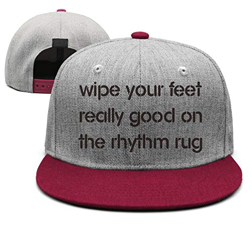 Wipe Your Feet Really Good On The Rhythm Rug Messy fit All Cotton Snapback Baseball