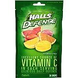 #9: HALLS Defense Supplement Drops, (Assorted Citrus, 30 Drops)