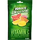 HALLS Defense Supplement Drops, (Assorted Citrus, 30 Drops)