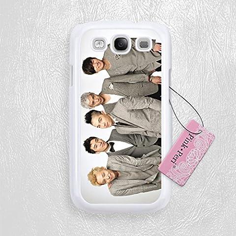 Pink Peri™ Bigbang K-pop Hard Phone Case for Samsung Galaxy S3 Case (White) (Samsung Galaxy S4 Cases Kpop)