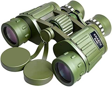 Emarth 8X42 Dual Focus Binocular Compact Telescopes for Bird Watching / Viewing / Outdoor, Optics 397ft/1000yds Army Green