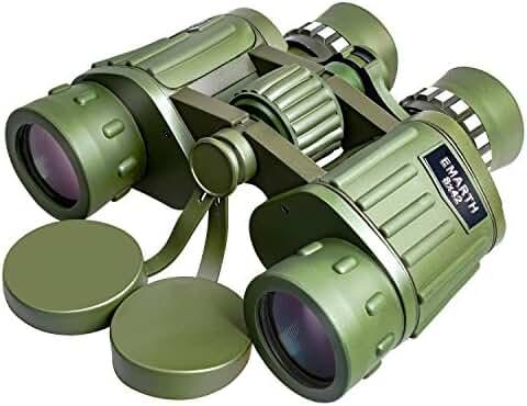 Emarth 8X42 Dual Focus Binocular Compact Telescopes for Bird Watching / Viewing / Outdoor, Optics 397ft/1000yds Army Green