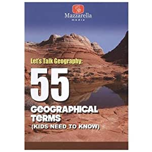 Let's Talk Geography: 55 Geographical Terms (Kids Need to Know)