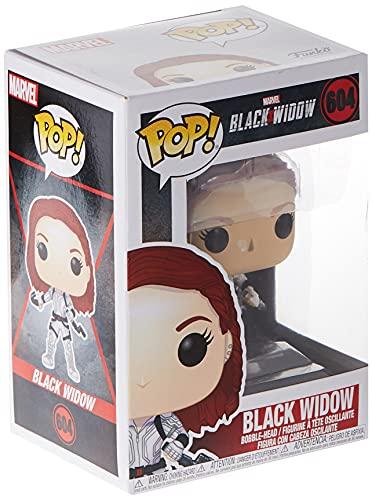 Funko Pop! Marvel: Black Widow – Black Widow (White Suit), Multicolor