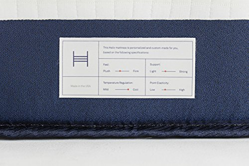 Helix Sleep Custom Mattress - 10 Inch, Queen Size