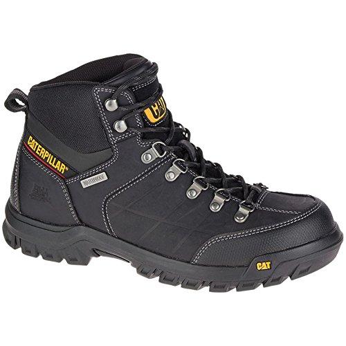 Caterpillar Men's Threshold Waterproof Work Boots, Black, 7.5 W by Caterpillar