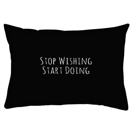 Snoogg Empezar A Hacer Rectángulo Toss Throw Pillow Cojín ...