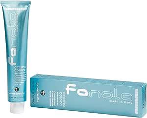 Fanola Tinte Corrector Azul 100mL - Tinte crema colorante permanente para el cabello pelo - Color uniforme y brillante - PROFESIONAL | Intensifiers
