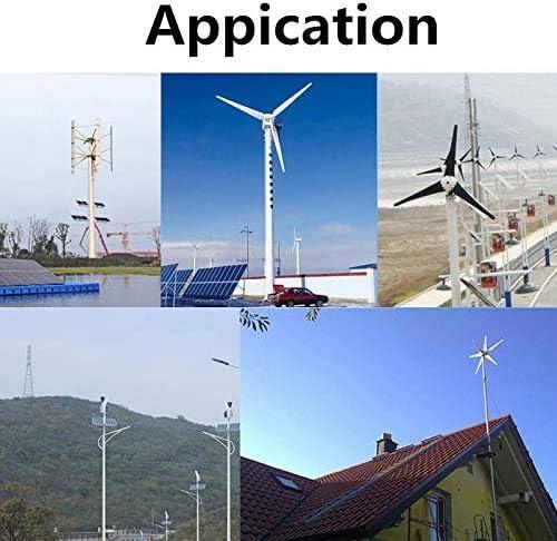 zhangchao Wind-Turbinen-Generator, 500W Blatt Wind Turbines + Controller-Windgenerator Energie Windrad Energie Solar Wind Power Parts,24V