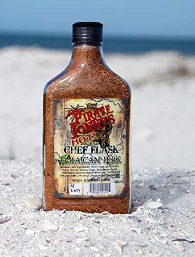 Pirate Jonny's Jamaican Jerk HOT - Flask by Pirate Jonny's