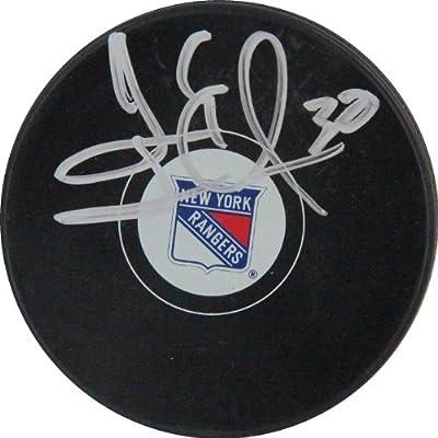 Henrik Lundqvist NHL New York Rangers Autographed Puck