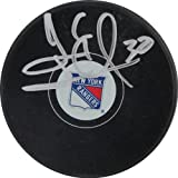 NHL New York Rangers Henrik Lundqvist Signed Hockey Puck
