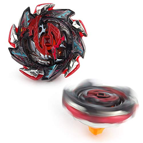 Lbekom Bey Battling Top Blade Burst B-113 Hell Salamander.12Op Balance Booster Top Spinning, Toys Metal Plastic Fusion 4D Gift Toys for Children (New Toys in 2019)
