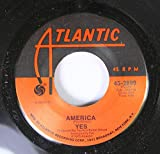 YES 45 RPM AMERICA / TOTAL MASS RETAIN (FROM CLOSE TO THE EDGE)
