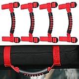 4 x Roll Bar Grab Handles Grip Handle for Jeep Wrangler YJ TJ JK JK JL JLU Sports Sahara Freedom Rubicon X & Unlimited 1955-2018: more info