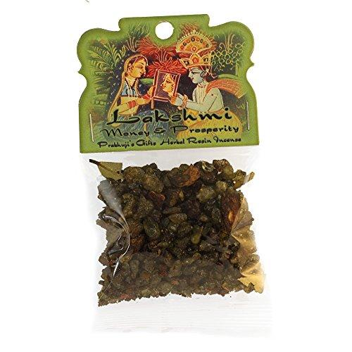 Resin Incense Lakshmi - Money and Prosperity - 1.2 oz bag