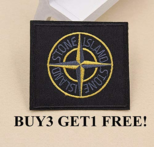 STONE ISLAND BADGE//PATCH WITH BUTTONS BRAND NEW