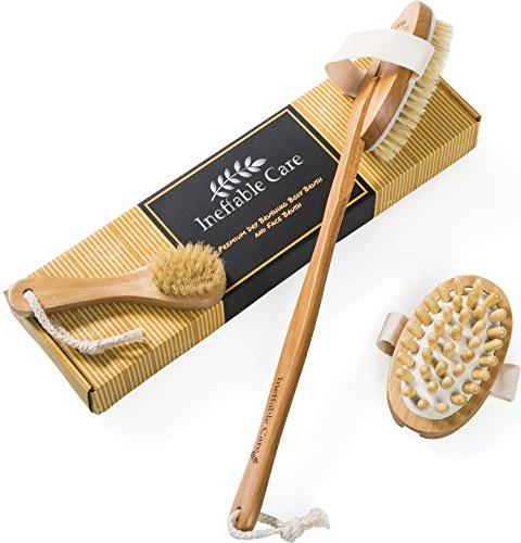 Brushing Natural Bristles Detachable Handle product image