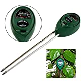 3 in1 PH Garden Soil Tester Professional Temperature Moisture Sunlight Meter - Nature Element Measurements pH/TDS/ORP/TEMP/PPM/EC Tester