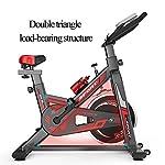 Casa-Cyclette-Indoor-Cycling-Spin-Bike-Muto-Stabile-e-sicura-Manubrio-Regolabile-e-Altezza-Seduta-per-Ufficio-casaNero