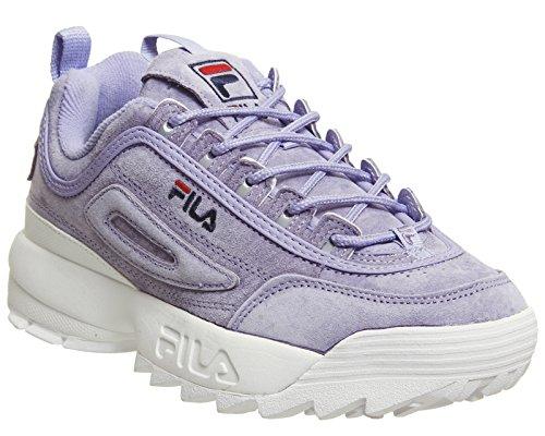 Fila Dames Lavendel Zoete Verstoorder Ii Premie Suède Sneakers