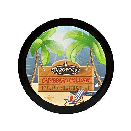 RazoRock Caribbean Holiday Italian Shaving Soap (Best Italian Shaving Soap)
