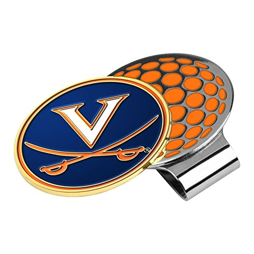 NCAA Virginia Cavaliers Golf Hat Clip with Ball Marker