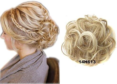 Extensiones de ShowPower Peinado rizado Updos de pelo alto para ...