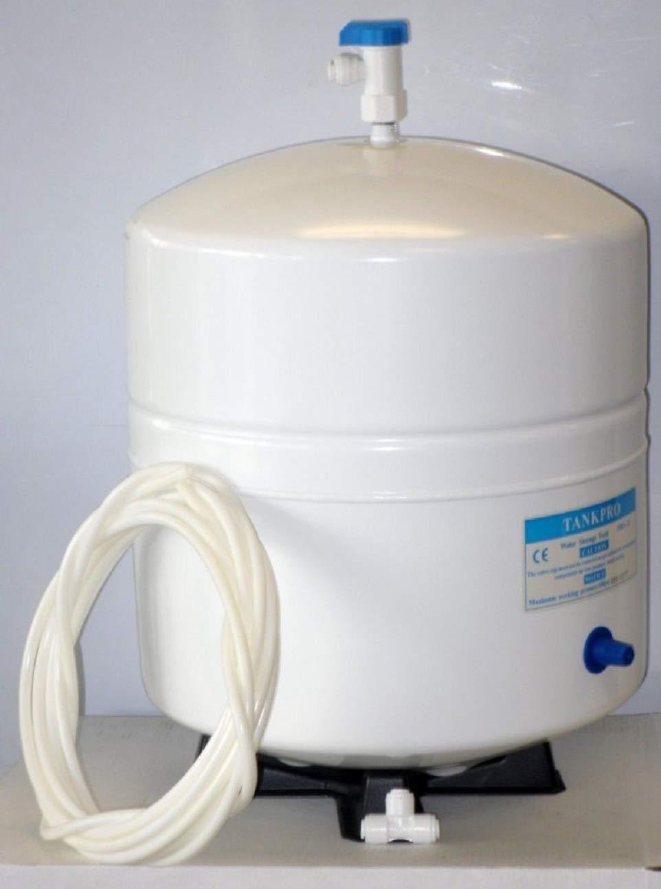 Reverse Osmosis Water Filter Storage Tank with Tank Valve /tubuing/Tee 4.5 /3.2