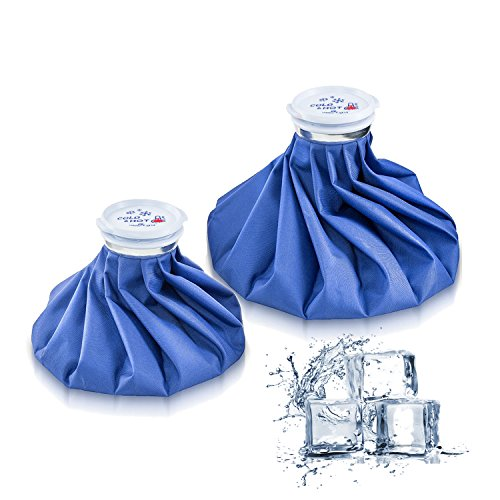Ice Bag Packs - Reusable Hot & Cold Pack (2 Packs(9/11 Inch)) ()