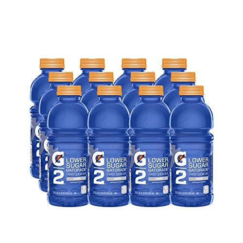 Gatorade G2 Thirst Quencher, Grape, 20 Ounce Bottles (Pack of 12) ()