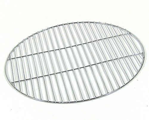 - Sunnydaze Chrome Plated Cooking Grate for Grilling, 24 Inch Diameter