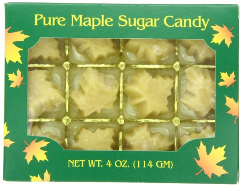 Butternut Mountain Farm Pure Maple Sugar Candy, 4 Ounce