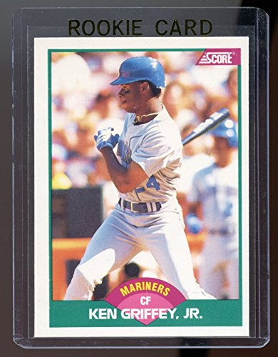 - 1989 Score Rookie/Traded #100T Ken Griffey Jr. Mariners RC Rookie Card - Mint Condition Ships in a Brand New Holder