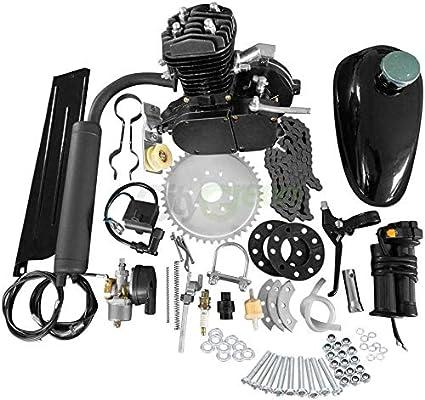 Full Sets 80cc bicycle motor kit Motorized 2 Stroke Petrol Gas Motor Engine Kits