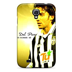 [RhWGthT6277Mkswa]premium Phone Case For Galaxy S4/ The Football Player Of Sydney Alessandro Del Piero On Yellow Background Tpu Case Cover