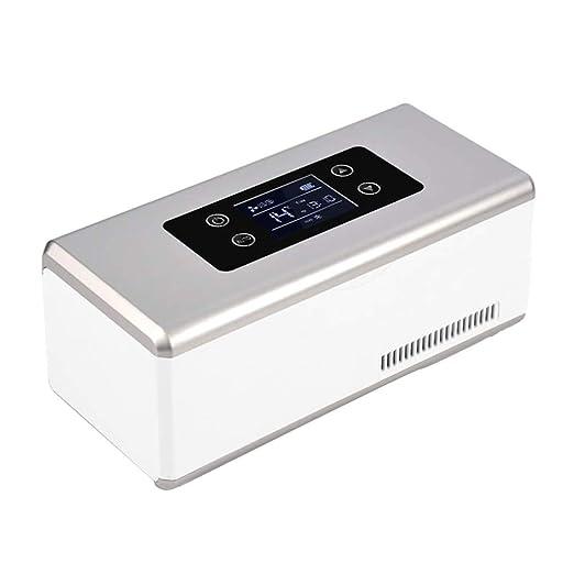 YZJJ Nevera portátil Caja de refrigerador, Caja Inteligente para ...