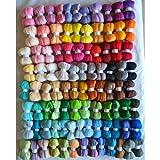 Maslin roving naaldvilten Lana Merino Wool Fiber roving for Needle Felting kit DIY crafa feutrine Mixed Colors 4650g