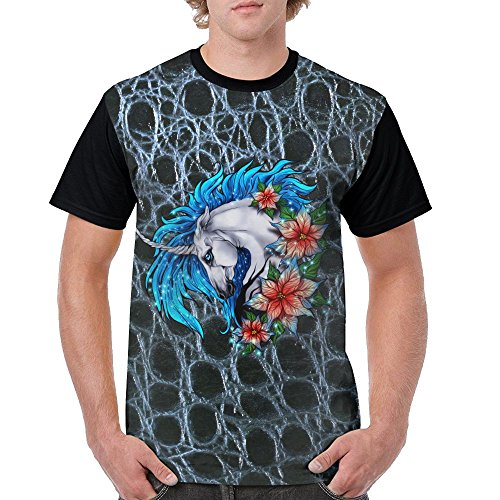 Unicorn Horse Punk Hipster Comfort Premium Casual Shirt For Mens