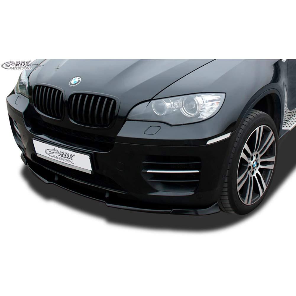 nero RDX Racedesign RDFAVX30715/spoiler anteriore vario-x X6/E71/2008-incl M50/ PU