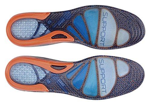Sidas Cushioning Support Semelle Bleu/Orange