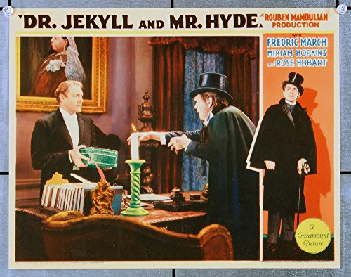 Dr. Jekyll And Mr. Hyde (1931) Original Movie Poster